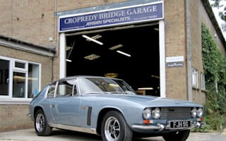 Eric Morecambe's Jensen Interceptor hits the market