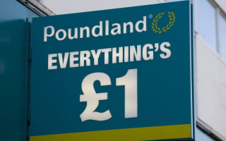 Katie Price snapped shopping at Poundland