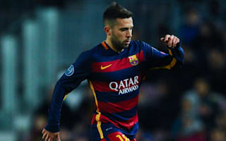 Alba admires Atletico team work