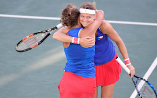 Rio 2016: Safarova and Strycova sail to doubles bronze