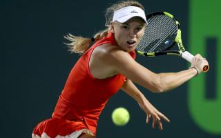 Wozniacki, Pliskova reach last four