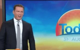 TV presenter left speechless at great white shark footage