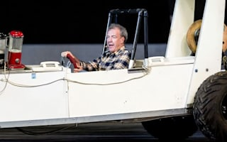 """""""It's difficult for Clarkson to drift and deliver his lines,"""" reveals Top Gear stunt driver"""