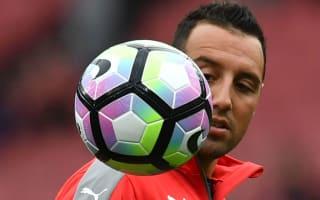 Arsenal midfielder Cazorla set to miss rest of season