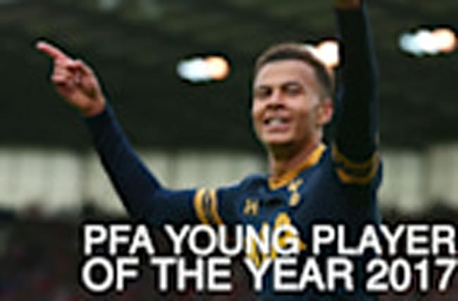 Dele Alli: PFA Young Player of the Year in numbers