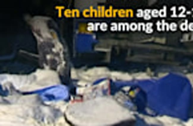 Youth acrobatics team killed in West Siberia bus crash
