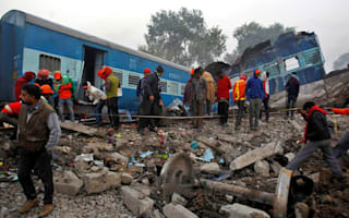 The death toll in the Indian train derailment has risen to 145