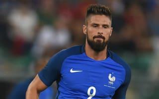 Giroud answers his critics with goals - Deschamps