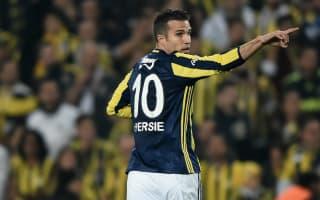 Van Persie wins Istanbul derby after instigating tempestuous Tosic dismissal