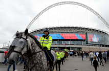 Metropolitan Police increase armed officer presence for Wembley, Twickenham finals