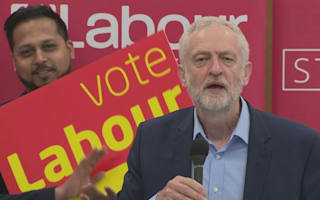 Jeremy Corbyn: Labour gaining huge amount on Tories amid election fight