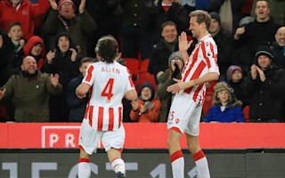 Stoke City 1 Everton 1: Crouch reaches Premier League century in draw