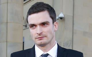 Adam Johnson filmed laughing in jail over sex conviction