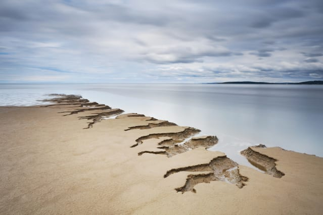 Adult Your view - Winner: Tony Higginson - Shifting sands, Silverdale, Lancashire