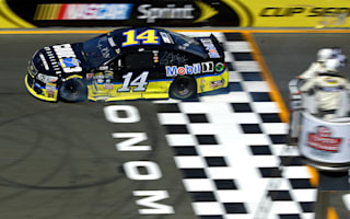 Stewart wins in Sonoma with dramatic last-lap pass