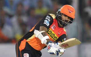 Dhawan stars for Hyderabad as Mumbai crumble