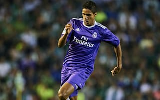 Varane a doubt for Napoli as Real Madrid confirm muscle injury