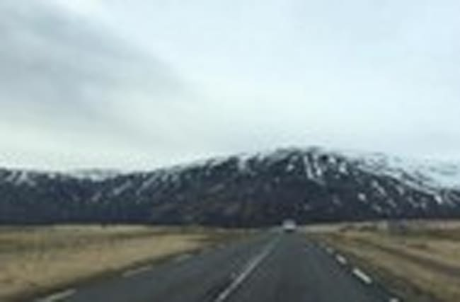 Timelapse: Driving Through Reykjavik, Iceland