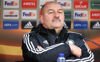 Cherchesov brands World Cup aim 'irresponsible' after taking Russia job