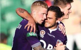 Perth Glory 2 Newcastle Jets 0: Keogh and Sandor seal victory