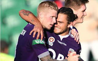 Perth Glory 2 Newcastle Jets 0: Keogh and Sandor seal victory