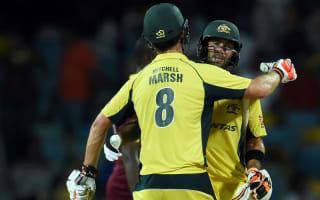 Marsh left 'speechless' by Maxwell