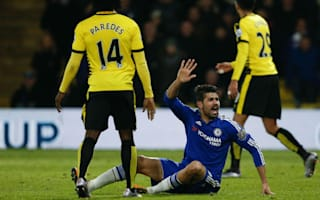 Hiddink accuses Watford players of provoking Costa