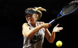 Sharapova makes winning return after doping ban