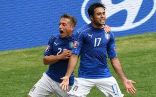 Giaccherini: Italy's late winner showed 'cojones'