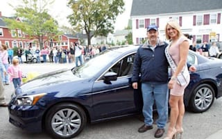 Man drives Honda Accord over a million miles. Is given new Accord.