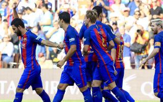 Barcelona 6 Real Betis 2: Suarez hat-trick and Messi double inspire demolition job
