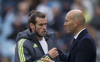 Zidane wants flexible stars to fill Madrid's Bale void