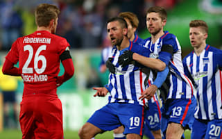 FC Heidenheim 2 Hertha Berlin 3: Ibisevic at the double in DFB-Pokal