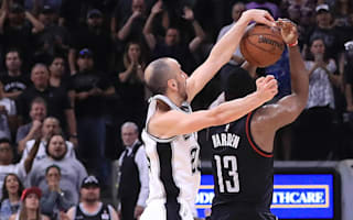 Ginobili lifts Kawhi-less Spurs to overtime win against Rockets