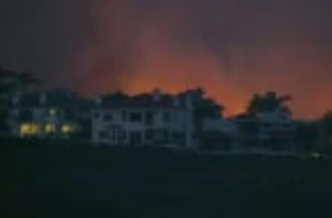 Wildfires rage across western U.S.
