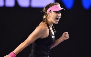 Battling Bencic overcomes Pavlyuchenkova, Ivanovic on song