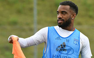 Genesio: Lacazette feels loved at Lyon