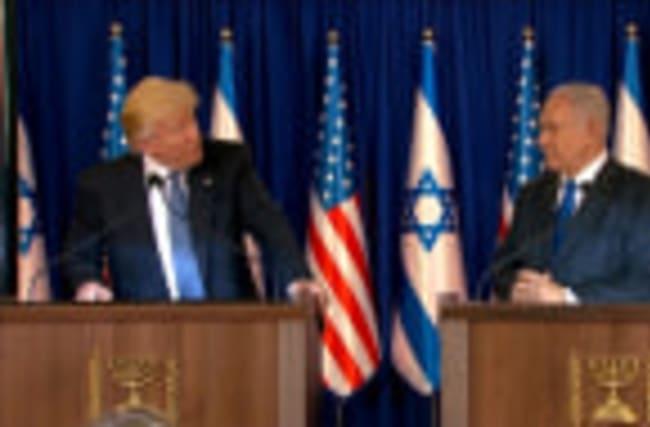"Trump, Netanyahu reaffirm ""unbreakable bond"""