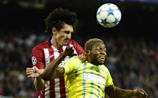 Savic in doubt for Madrid derby with calf injury