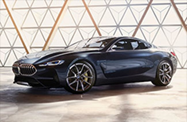 BMW pulls wraps off its stunning new 8 Series concept