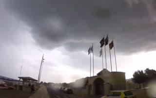 British holidaymaker captures intense storm in Crete