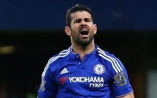 Costa suffers broken nose in training