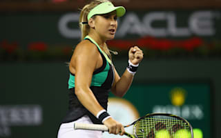 Bencic finds some form, Puig powers through at Indian Wells