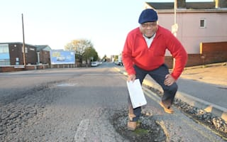 Driver goes to war with council over pothole damage and wins