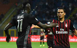 AC Milan are not reliant on Bacca, says Montella
