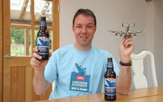 Man pays £43,000 for bomber flight