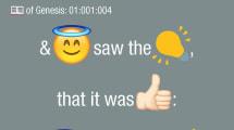 Alguien tuvo la inútil idea de traducir la Biblia a emojis