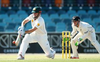 Marsh plays down talk of last Test chance