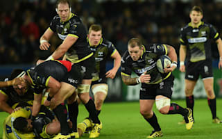Ospreys and Wales' James sidelined following eye surgery