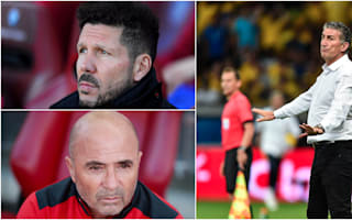 Sampaoli and Simeone lead contenders to replace Bauza in Argentina